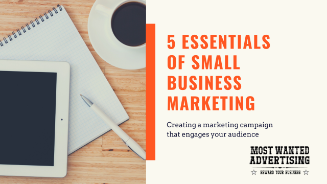 5 Essentials of Small Business Marketing